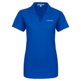 Ladies Royal Dry Zone Grid Polo-Diplomats Flat Logo
