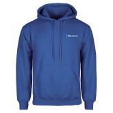 Royal Fleece Hoodie-Diplomats Flat Logo