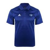 Adidas Climalite Royal Jaquard Select Polo-Diplomats Official Logo
