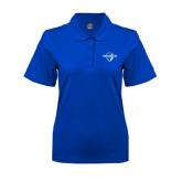 Ladies Easycare Royal Pique Polo-Diplomats Official Logo