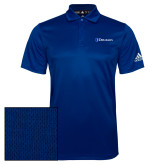 Adidas Climalite Royal Game Time Polo-Diplomats Flat Logo