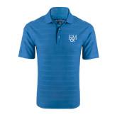 Sapphire Horizontal Textured Polo-F&M
