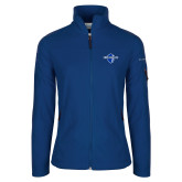 Columbia Ladies Full Zip Royal Fleece Jacket-Diplomats Official Logo