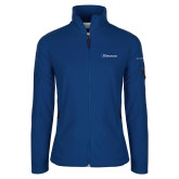 Columbia Ladies Full Zip Royal Fleece Jacket-Diplomats Flat Logo