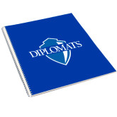 College Spiral Notebook w/Clear Coil-Diplomats Official Logo