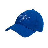 Royal Twill Unstructured Low Profile Hat-Diplomats Official Logo