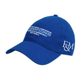 Royal Twill Unstructured Low Profile Hat-2017 Centennial Conference Champions Softball