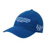 Royal OttoFlex Unstructured Low Profile Hat-2017 Centennial Conference Champions Softball