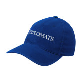 Royal OttoFlex Unstructured Low Profile Hat-Diplomats Flat Logo