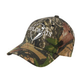 Mossy Oak Camo Structured Cap-Diplomats Official Logo