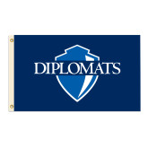 3 ft x 5 ft Flag-Diplomats Official Logo