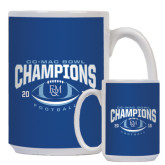 Full Color White Mug 15oz-2016 CC-MAC Bowl Champions Football