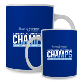Full Color White Mug 15oz-2017 Centennial Conference Champions Mens Lacrosse