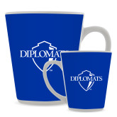 Full Color Latte Mug 12oz-Diplomats Official Logo