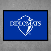 Full Color Indoor Floor Mat-Diplomats Official Logo