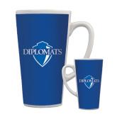 Full Color Latte Mug 17oz-Diplomats Official Logo