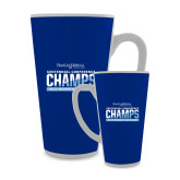 Full Color Latte Mug 17oz-2017 Centennial Conference Champions Womens Lacrosse