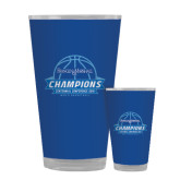 Full Color Glass 17oz-2016 Centennial Conference Champions Mens Basketball