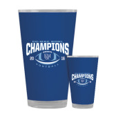 Full Color Glass 17oz-2016 CC-MAC Bowl Champions Football