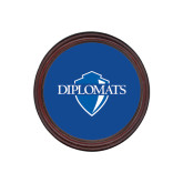 Round Coaster Frame w/Insert-Diplomats Official Logo