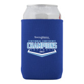 Collapsible Royal Can Holder-2017 Centennial Conference Champions Softball