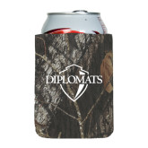 Collapsible Mossy Oak Camo Can Holder-Diplomats Official Logo