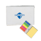 Micro Sticky Book-Diplomats Official Logo