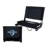 Stadium Chair Black-Diplomats Official Logo