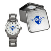 Mens Stainless Steel Fashion Watch-Diplomats Official Logo