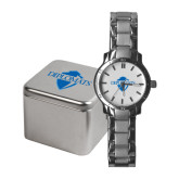 Ladies Stainless Steel Fashion Watch-Diplomats Official Logo