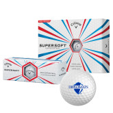 Callaway Supersoft Golf Balls 12/pkg-Diplomats Official Logo