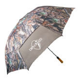 58 Inch Hunt Valley Camo Umbrella-Diplomats Official Logo