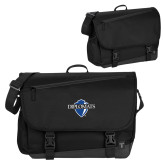 Metro Black Compu Brief-Diplomats Official Logo