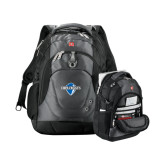 Wenger Swiss Army Tech Charcoal Compu Backpack-Diplomats Official Logo