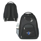 The Ultimate Black Computer Backpack-Diplomats Official Logo