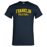 Navy T Shirt-Volleyball