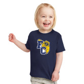 Toddler Navy T Shirt-Primary Athletics Mark
