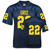 Replica Navy Adult Football Jersey-#22
