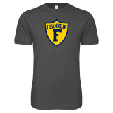 Next Level SoftStyle Charcoal T Shirt-Primary Athletics Mark