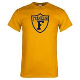 Gold T Shirt-Football Shield