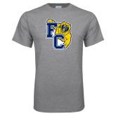 Grey T Shirt-Primary Athletics Mark