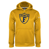Under Armour Gold Performance Sweats Team Hoodie-Football Shield