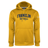 Under Armour Gold Performance Sweats Team Hoodie-Softball