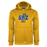 Under Armour Gold Performance Sweats Team Hoodie-Golf