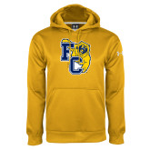 Under Armour Gold Performance Sweats Team Hoodie-Primary Athletics Mark