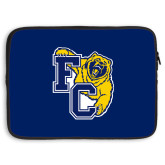 15 inch Neoprene Laptop Sleeve-Primary Athletics Mark, Background PMS 2757 Blue