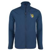 Navy Softshell Jacket-Primary Athletics Mark