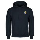 Navy Fleece Hoodie-Primary Athletics Mark
