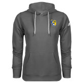 Adidas Climawarm Charcoal Team Issue Hoodie-Primary Athletics Mark