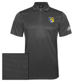 Adidas Climalite Charcoal Grind Polo-Primary Athletics Mark